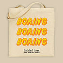 Boring Man Bag