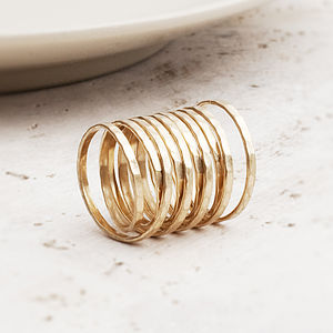 Cara Coil Ring In Gold Or Silver - women's jewellery