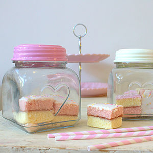 Love Heart Storage Jar