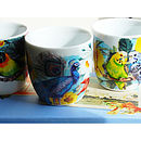 Exotic Birds Tealight Holders