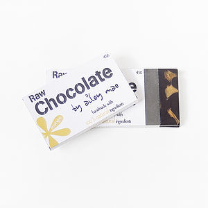 Raw Chocolate Bar   Mango - food & drink