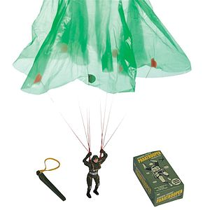 Airborne Assault Paratrooper Parachute Toy - children's parties