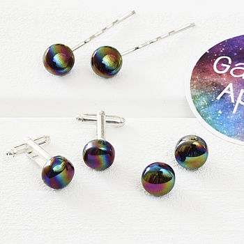 Glass 'Galaxies Apart' Jewellery Collection
