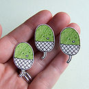 Acorn Illustrated Pin Badge Brooch