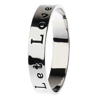 Meaningful Words Bangle