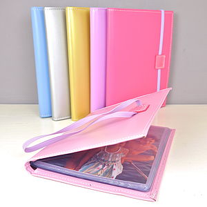Leather 'Boasting Book' Photo Album - gifts for grandparents