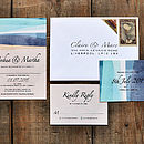 St Ives Bay Wedding Invitation Suite