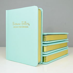 Fortune Telling Book For Brides - albums & guest books