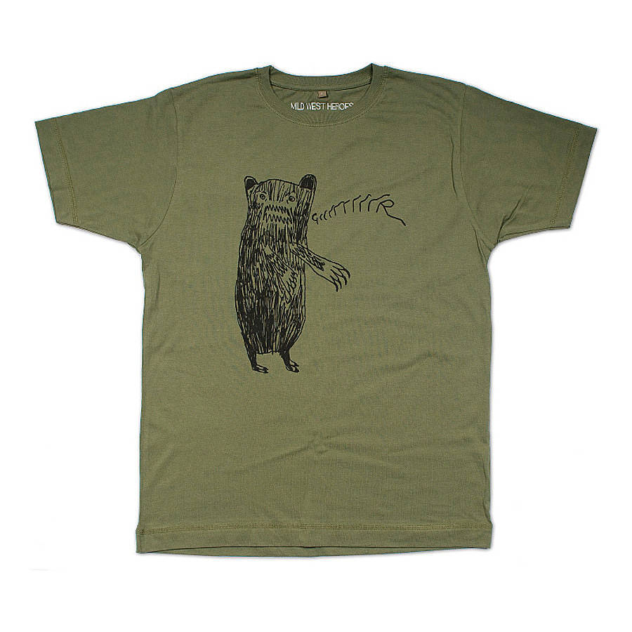 men 39 s grrrrrr bear t shirt by mild west heroes