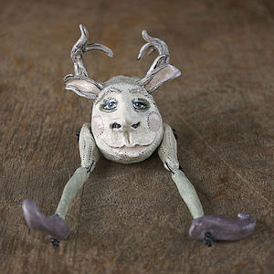 Christmas Reindeer Paperweight Ornament