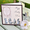 Vintage Perfume Birthday Card