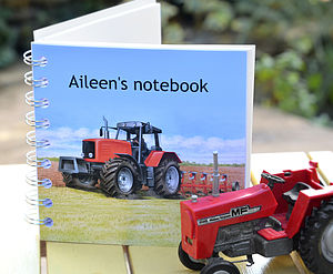 Tractor Notebook - stationery & desk accessories