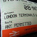 50% Off! London Travelcard Cushion November