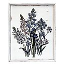 Blooming Botanical Wooden Wall Art