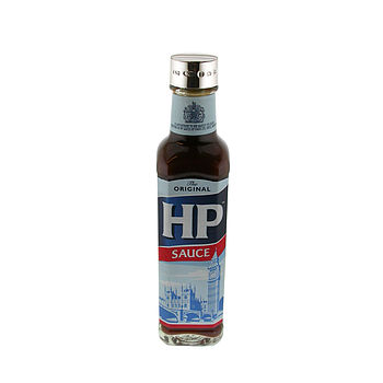 Engraved Silver Hp Sauce Bottle Lid