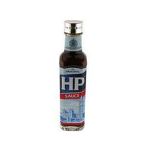 Engraved Silver Hp Sauce Bottle Lid - sauces & marinades