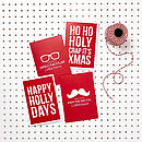 Decidedly Different Christmas Card Pack