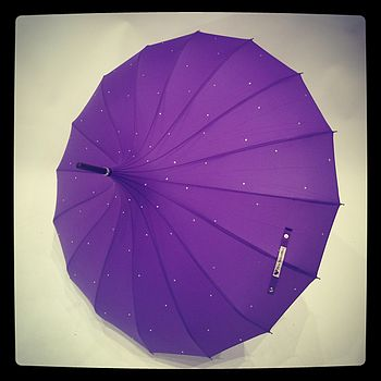 Purple Sparkle Umbrella