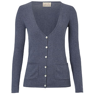 Ladies Everyday Essential Classic Cotton Cardigan - summer sale