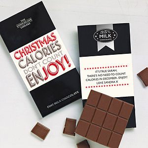 Chocolate Lover's Christmas Chocolate Bar - chocolates & truffles