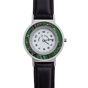 Medii Series Watch With Circuit Board Inlay