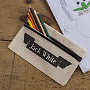Personalised Name Banner Pencil Case