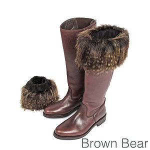 Faux Fur Boot Toppers - women's fashion