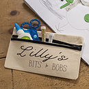 Personalised Bits And Bobs Pencil Case