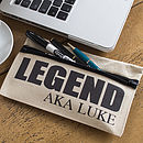Personalised Aka Pencil Case