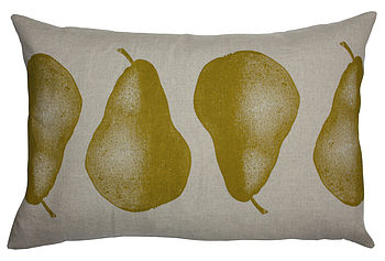 Pear Cushion
