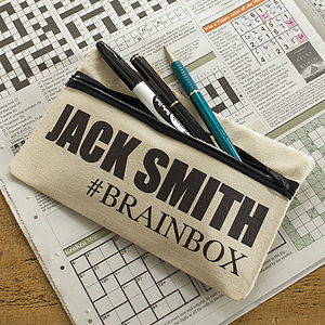 Personalised Hashtag Pencil Case - our pick of the sale