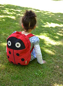 Child's Ladybird Rucksack - camping accessories