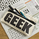 Geek Pencil Case