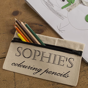 Personalised Pencil Case - gifts for her