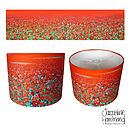 Poppy Print Lampshade By Jacqueline Hammond for Smart Deco Style