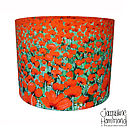 Poppies art print lamp shade By Jacqueline Hammond for Smart Deco Style