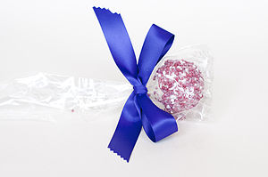 Belgian Chocolate And Sprinkled Sugar Lolly - children's parties