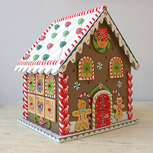 Christmas Gingerbread House Advent Calendar - nativity scenes & figures
