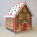 Christmas Gingerbread House Advent Calendar
