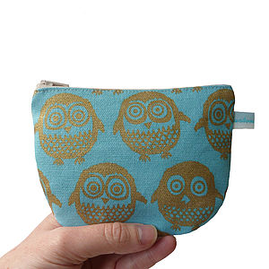 Golden Owl Purse - beauty & pampering
