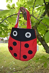 Child's Ladybird Handbag