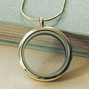 Gold Memories Locket