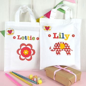 Girl's Personalised Mini Bag
