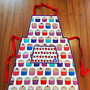 Cupcake Aprons For Kids And Adults