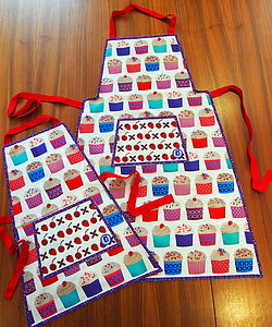 Cupcake Aprons For Kids And Adults - cooking & food preparation
