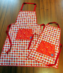 Tomato Aprons For Kids And Adults