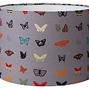 Midnight Butterfly Lampshade
