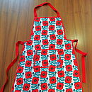Poppy Aprons For Adults And Kids