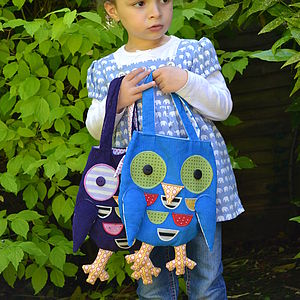 Child's Owl Handbag - bags, purses & wallets