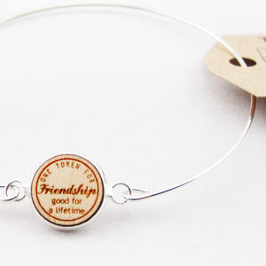 Token 'Friendship' Bracelet - women's jewellery